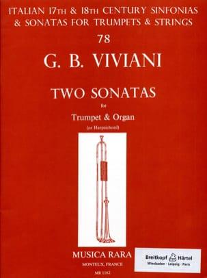 Two Sonatas - Giovanni Bonaventura Viviani - laflutedepan.com