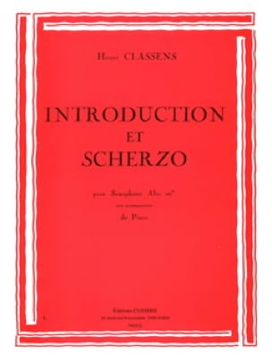 Henri Classens - Introduction et Scherzo - Partition - di-arezzo.fr