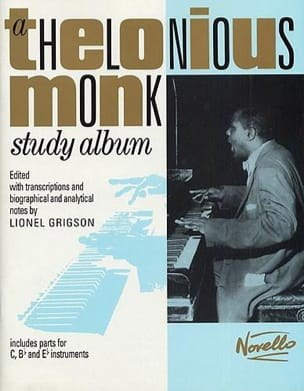 Study Album Thelonious Monk Partition Jazz - laflutedepan