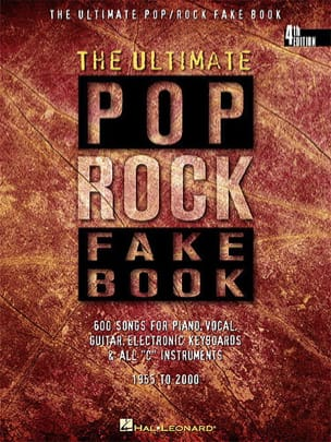 - The Ultimate pop rock fake book Ut - Partition - di-arezzo.fr