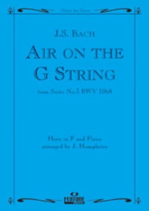 BACH - Air On The G String - Suite 3 BWV 1068 - Partition - di-arezzo.fr