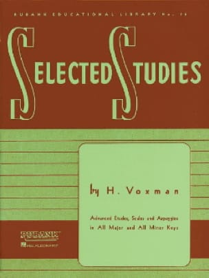 H. Voxman - Selected Studies - Sheet Music - di-arezzo.co.uk