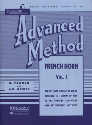Himie Voxman & WM. Gower - Advanced Method Volume 1 - Sheet Music - di-arezzo.co.uk