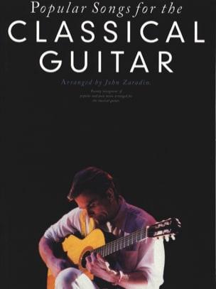 Popular Songs For The Classical Guitar John Zaradin laflutedepan