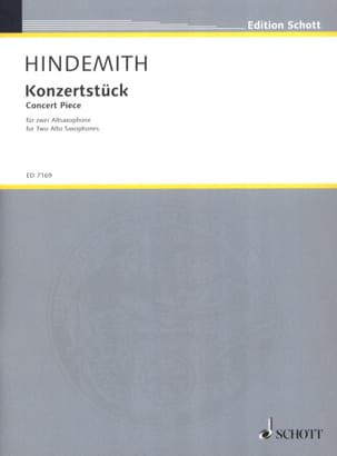 Paul Hindemith - Konzertstück 1933 - Sheet Music - di-arezzo.co.uk