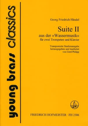Suite 2 - Water Music HAENDEL Partition Trompette - laflutedepan