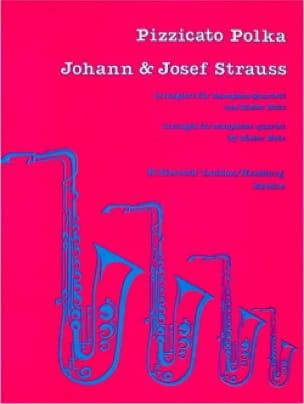 Strauss Johann & Josef - Pizzicato Polka - Partition - di-arezzo.fr