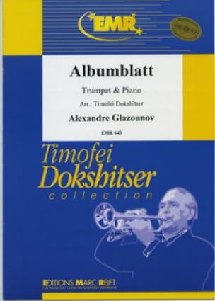 Alexander Glazounov - Albumblatt - Partition - di-arezzo.co.uk