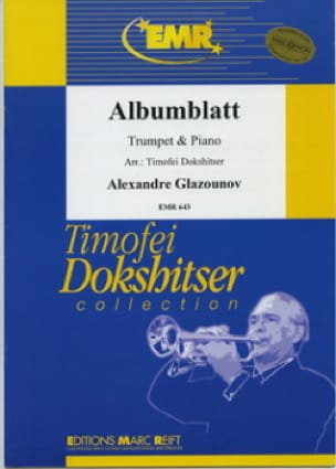 Albumblatt - Alexander Glazounov - Partition - laflutedepan.com