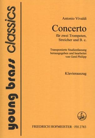 Concerto VIVALDI Partition Trompette - laflutedepan