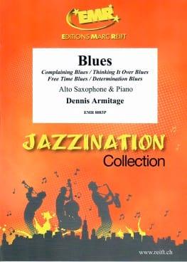 Blues - Dennis Armitage - Partition - Saxophone - laflutedepan.com
