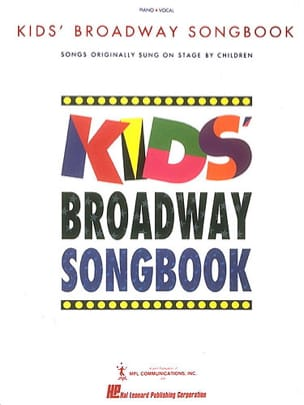 Kids' Broadway Songbook Book Only Partition laflutedepan
