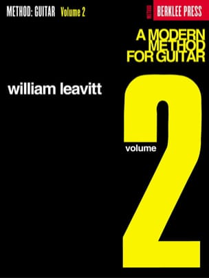 G. William Leavitt - A Modern Method For Guitar Volume 2 - Partition - di-arezzo.fr
