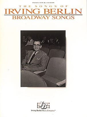 Broadway Songs Irving Berlin Partition Musique de film - laflutedepan