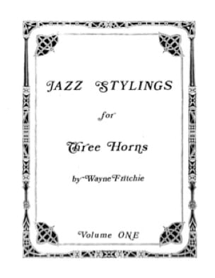 Wayne Fritchie - Jazz Stylings Volume 1 - Sheet Music - di-arezzo.co.uk