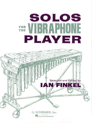 Solos for the vibraphone player Partition Vibraphone - laflutedepan