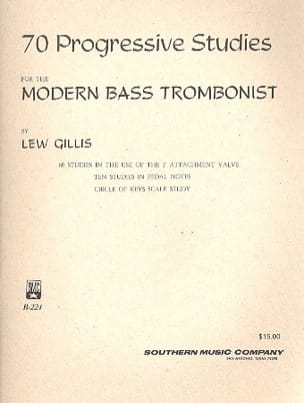 Lew Gillis - 70 Progressive Studies - Partition - di-arezzo.fr