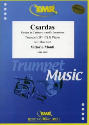 Csardas - Vittorio Monti - Partition - Trompette - laflutedepan.com