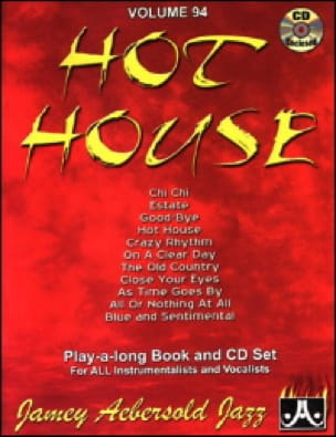 Volume 94 - Hot House - METHODE AEBERSOLD - laflutedepan.com