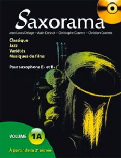 Saxorama Volume 1A - Partition - di-arezzo.fr