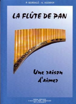 Aleman Kersalé - The Pan Flute - A Reason to Love - Sheet Music - di-arezzo.co.uk