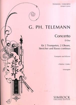 TELEMANN - Concerto D Major - Partition - di-arezzo.fr