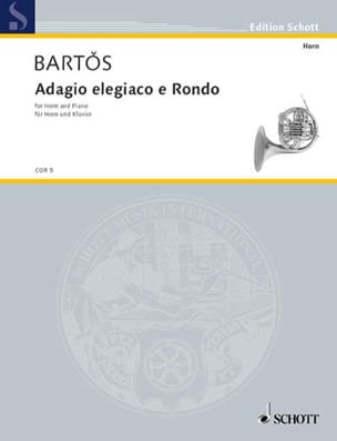 J.Z. Bartos - Adagio Elegiaco E Rondo - Partition - di-arezzo.fr