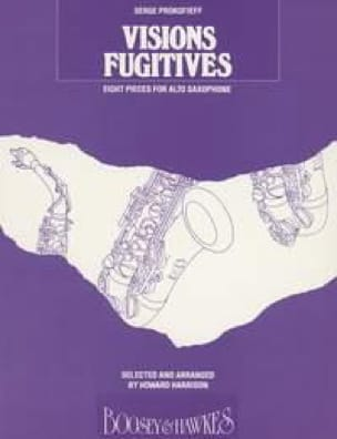 Serge Prokofieff - Fugitive visions - Sheet Music - di-arezzo.com