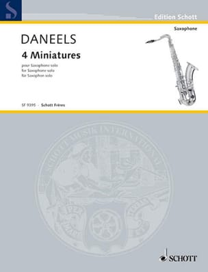 François Daneels - Quatre Miniatures - Partition - di-arezzo.fr