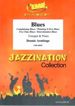 Blues - Dennis Armitage - Partition - Trompette - laflutedepan.com