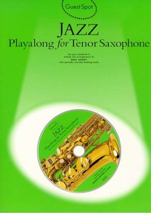 Guest Spot - Jazz playalong for tenor saxophone laflutedepan