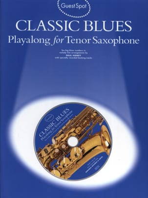 Guest Spot - Classic Blues Playalong For Saxophone Tenor laflutedepan