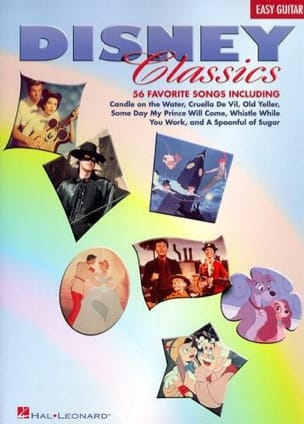 Disney Classics - 56 Favorite Songs - Easy Guitar - laflutedepan.com