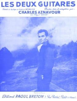 Charles Aznavour - The Two Guitars - Sheet Music - di-arezzo.co.uk