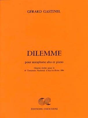 Gérard Gastinel - Dilemme - Partition - di-arezzo.fr