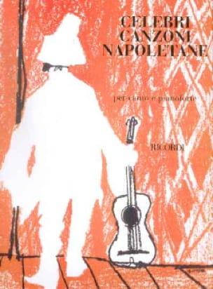 Celebri Canzoni Napoletane - Partition - laflutedepan.com