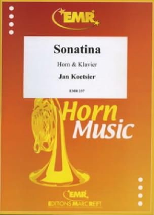 Sonatina Opus 59/1 Jan Koetsier Partition Cor - laflutedepan