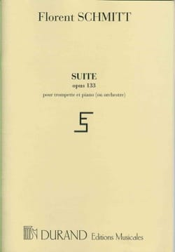 Suite Opus 133 En 3 Parties Florent Schmitt Partition laflutedepan