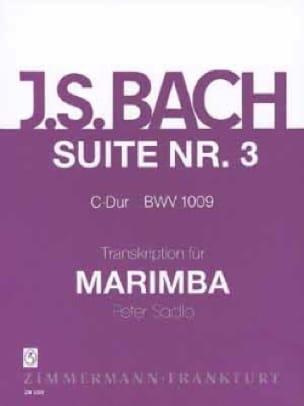 Johann Sebastian Bach - Suite N° 3 C-Dur BWV 1009 - Partition - di-arezzo.fr