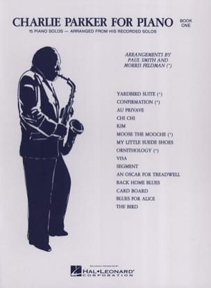 Charlie Parker - Charlie Parker For Piano Volume 1 - Sheet Music - di-arezzo.com