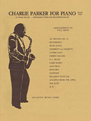 Charlie Parker - Charlie Parker For Piano Volume 2 - Sheet Music - di-arezzo.com