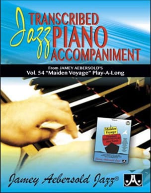 METHODE AEBERSOLD - Jazz Piano Voicing Volume 54 - Maiden Voyage - Partition - di-arezzo.fr