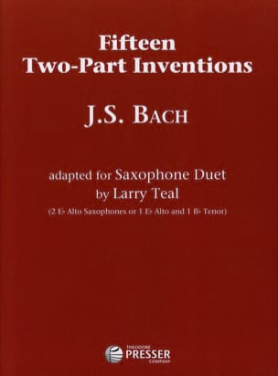 BACH - Fifteen Two-Part Inventions - Partition - di-arezzo.fr
