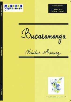 Bucaramanga - Frédéric Macarez - Partition - laflutedepan.com