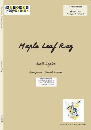 Maple Leaf Rag Scott Joplin Partition laflutedepan