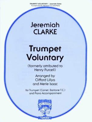 Trumpet Voluntary - Jeremiah Clarke - Partition - laflutedepan.com