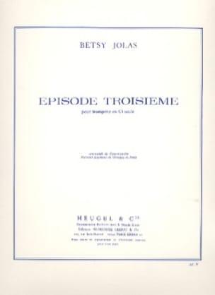 Episode Troisième - Betsy Jolas - Partition - laflutedepan.com