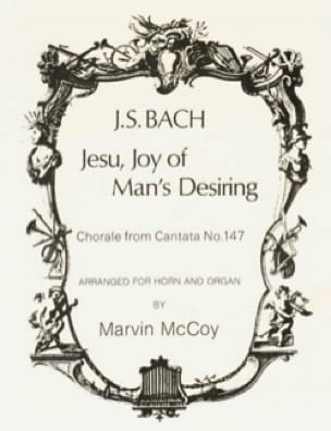 BACH - Jesu, Joy Of Man's Desiring - Partition - di-arezzo.fr