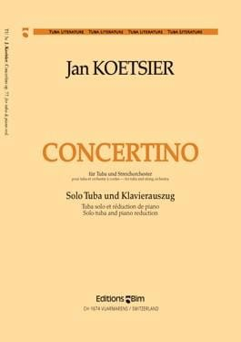 Jan Koetsier - Concertino Opus 77 - Partition - di-arezzo.fr