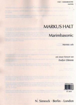 Markus Halt - Marimbasonic - Partition - di-arezzo.fr